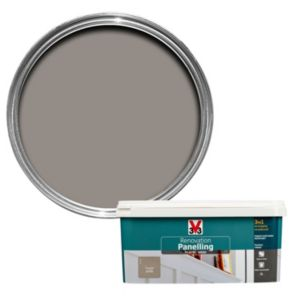 V33 Renovation Taupe Satin Panelling Paint 2L