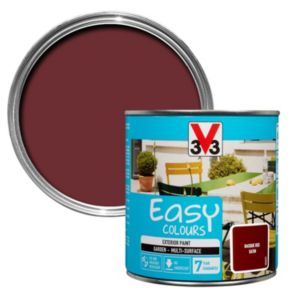 Image of V33 Easy Basque red Satin Furniture paint 500 ml