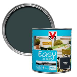 Image of V33 Easy Anthracite Powder Furniture paint 500 ml
