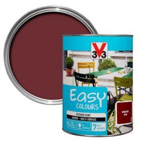 Image of V33 Easy Basque red Satin Furniture paint 1.5L