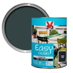 Image of V33 Easy Anthracite Powder Furniture paint 1500 ml