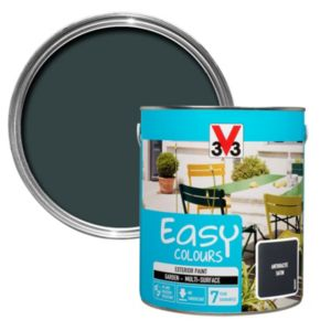 Image of V33 Easy Anthracite Satin Furniture paint 2500 ml