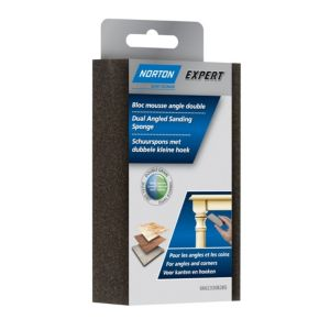 Image of Norton Expert 60/36 Grit Medium/coarse Dual-angled sanding sponge