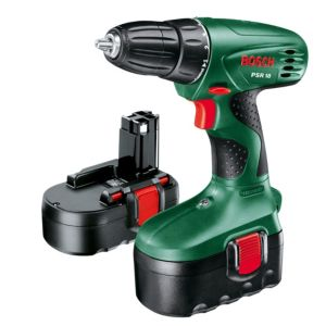 View Bosch Cordless 18V Ni-Cd Drill Driver 2 Batteries details