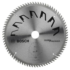 View Bosch 80T Mitre Saw Blade (Dia)250mm details