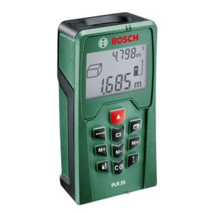 View Bosch PLR 25 Digital Laser Range Finder details