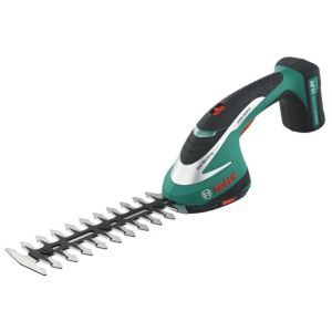 View Bosch 10.8V Cordless Electric Hedge Trimmer 600856370 0.95kg details
