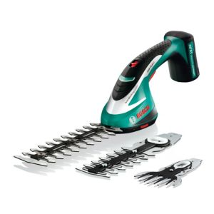 View Bosch Asb 10.8 LI Electric Cordless Li-Ion Shrub & Grass Shear Set details