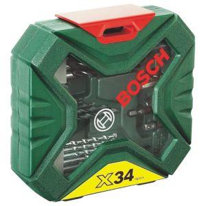 Bosch X-Line Mixed Drill Bit Accessory Set 34 Piece