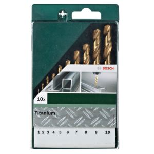 View Bosch 1-10 mm HSS Drill Bit Set, 10 Piece details