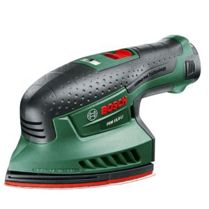 View Bosch Cordless Multi Sander without Batteries PSM 10.8 LI - BARE details
