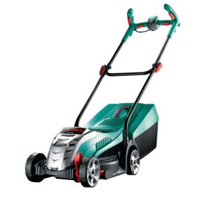 View Bosch Rotak 32 LI Ergoflex Cordless Lithium-Ion Rotary Lawnmower details
