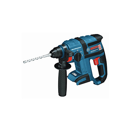 bosch professional cordless 18v 4ah li ion rotary hammer drill gbh 18 v ec bare departments. Black Bedroom Furniture Sets. Home Design Ideas