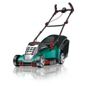 View Bosch Rotak 410 LI Ergoflex Cordless Lithium-Ion Rotary Lawnmower details