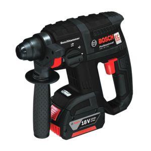 Bosch Cordless 18V 3Ah LiIon Hammer Drill 2 Batteries GBH18VEC