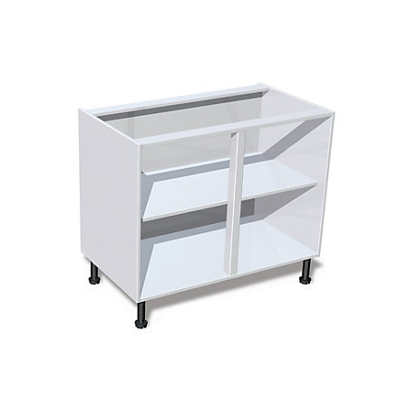 it kitchens white standard base cabinet w 1000mm On 1200 wide kitchen base unit