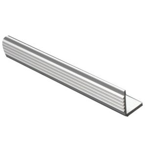 View FFA Concept Anodised Aluminium Square Edge Step Edging, (H)20mm (W)17.5mm (L)1m details