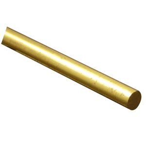 View FFA Concept Brass Round Metal Rod (L)1m (Dia)6mm details
