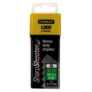 View Stanley Staples TRA709T (L)14mm Pack details