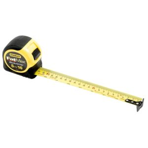 View Stanley Yellow & Black 5m Tape Measure (W)32mm (L)70mm details