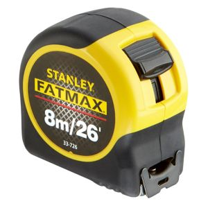View Stanley Yellow & Black 8m Tape Measure (W)32mm details
