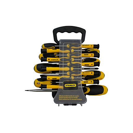stanley 40 piece multi screwdriver set departments diy at b q. Black Bedroom Furniture Sets. Home Design Ideas