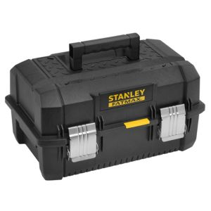 "Image of Stanley FatMax 18"" Structural foam plastic Cantilever toolbox"