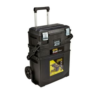 View Stanley Black Plastic Mobile Workshop (H)385mm (W)413mm (L)735mm details