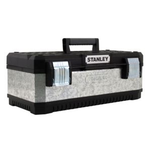 View Stanley Galvanised Tool Box (W)293mm (D)222mm details