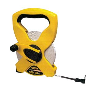View Stanley Yellow 30m Tape Measure (L)590mm details