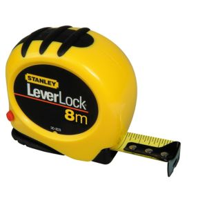 View Stanley Yellow & Black 8m Tape Measure details