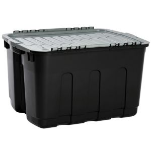 View Curver Black & Grey 63 L Plastic Storage Box details