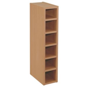 View IT Kitchens Solid Oak Wine Rack Cabinet (W)150mm details