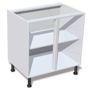 View IT Kitchens White Base Cabinet Unit Carcass (W)800mm details