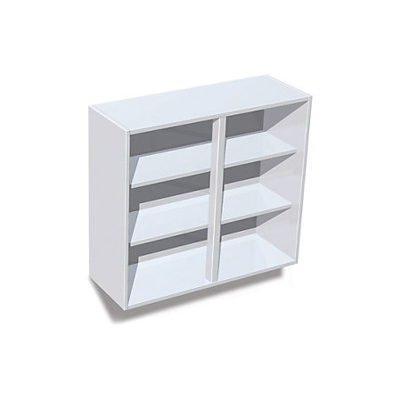 It kitchens white standard wall cabinet w 800mm for Standard white kitchen cabinets