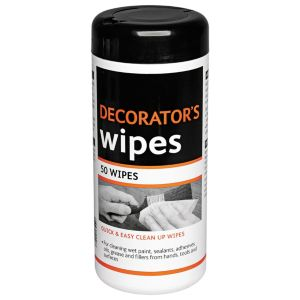 View B&Q Wipes, Pack of 50 details