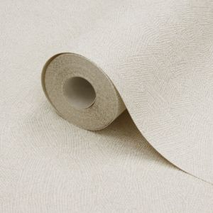 View Plain Cream Vinyl Wallpaper details
