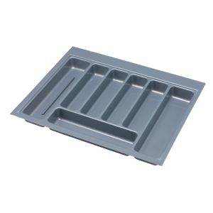 View IT Kitchens Grey Plastic Kitchen Utensil Tray details