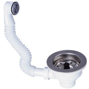 Image of Wirquin Kitchen sink waste kit (Dia)40mm