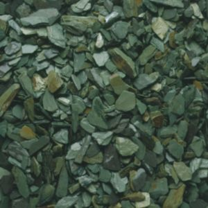 View B&Q Green Decorative Slate Chippings details