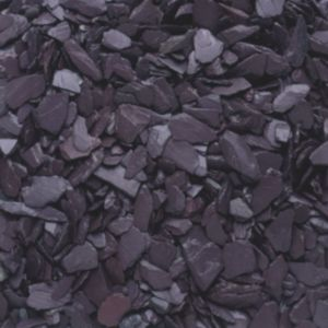 View B&Q Blue Decorative Slate Chippings details