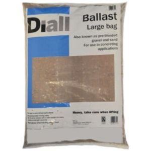 View B&Q Sharp Sand & Gravel All In Ballast details
