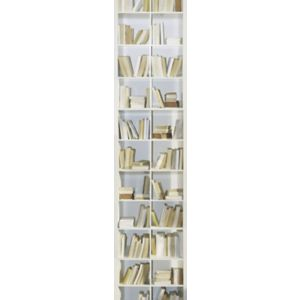 View Bookcase Grey Wallpaper details