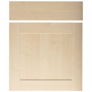 View IT Kitchens Westleigh Contemporary Maple Effect Shaker Drawerline Door & Drawer Front (W)600mm, Set of 2 details