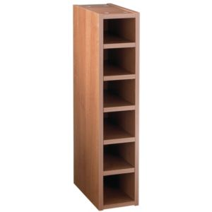 View IT Kitchens Walnut Style Modern Wine Rack Cabinet (W)150mm details