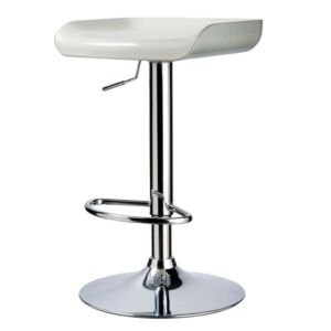 View Cooke & Lewis Modern Chrome Effect Bar Stool details