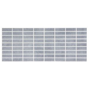 View Trendino Grey & Blue Ceramic Mosaic Tile, Pack of 14, (L)500mm (W)200mm details