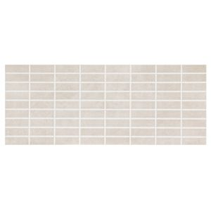 View Trendino Taupe Ceramic Mosaic Tile, Pack of 14, (L)500mm (W)200mm details