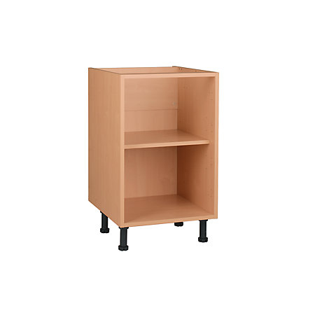 Cooke lewis oak effect standard base cabinet unit for Kitchen cabinets 500mm
