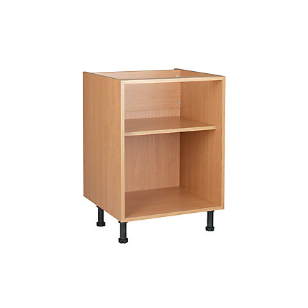 Cooke Lewis Oak Effect Standard Base Cabinet Unit Carcass W 600mm Departments Tradepoint
